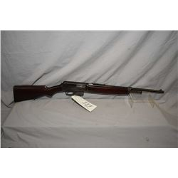 "Winchester Model 1910 SL .401 Cal Mag Fed Semi Auto Rifle w/ 20"" bbl [ blued finish turning brown, N"