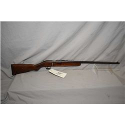 "Cooey Model Ace Special .22 LR Cal Single Shot Bolt Action Rifle w/ 24"" bbl [ blued finish fading an"