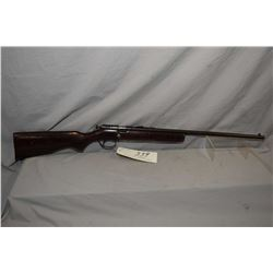 "Sure Shot Model Single Shot .22 LR Cal Bolt Action Rifle w/ 22"" bbl [ fading blue finish turning bro"