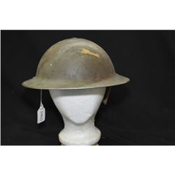 Vintage WWI helmet with liner