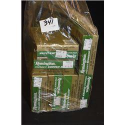 Bag Lot : Seven Boxes ( 20 rnds ) Rem Prem Copper Solid Core Lokt Ultra Scirocco .30 - 06 Sprg Cal 1