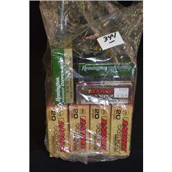 Bag Lot : Seven Boxes ( 20 rnds per ) Rem Scirocco & Accu Tip .30 - 06 Sprg Cal 150 & 165 Grain Ammo