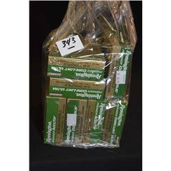 Bag Lot : Seven Boxes ( 20 rnds per ) .30 - 06 Sprg Cal Rem Core Lokt Ultara Copper Solid & Accu Tip