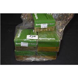 Bag Lot : Eight Boxes ( 25 rnds per ) Rem Golden Saber .357 Mag Cal HPJ 125 Grain Ammo Retail $ 42.9