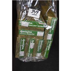 Bag Lot : Seven Boxes ( 20 rnds per ) Rem Core Lokt Scirocco & Accu Tip .30 - 06 Sprg Cal Ammo [ var