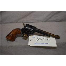 Restricted Herbert Schmidt model 21, .22 LR, 6 shot semi-action revolver w/ 152mm bbl. [blued finish