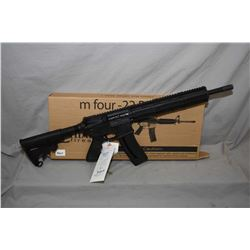 "RESTRICTED Chiappa m four- .22 LR only, mag fed semi-automatic rifle w/ 16"" bbl. [ matte black finis"