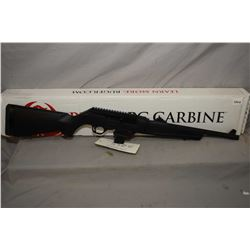 "RESTRICTED Ruger PC Carbine 9mm, mag fed semi-automatic carbine, w/ 16"" bbl. [synthetic stock, take-"