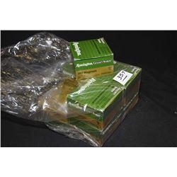 Bag Lot : Eight Boxes ( 25 rnds ) .357 Mag Cal Rem Golden Saber 125 Grain Brass Jacket Hollow Point