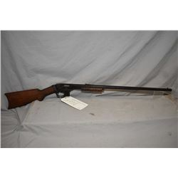 "Savage Model 1914 ? .22 LR Cal Mag Fed Pump Action Rifle w/ 24"" octagon bbl [ patchy fading blue fin"