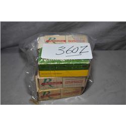 Bag Lot : 5 Boxes ( 50 rnds per ) Plus 24 Rnds .5 MM Rimfire Rem Mag Ammo