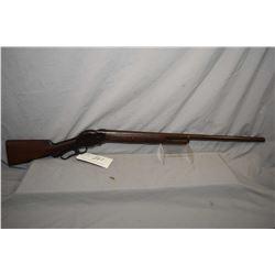 "Winchester Model 1887 .10 Ga Tube Fed Lever Action Shotgun w/ 32"" bbl [ fading blue finish turning b"