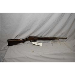 Winchester Model 1907 SL .351 SL Cal Mag Fed Semi Auto Rifle w/ bbl shortened to 19 1/2   [ faded bl