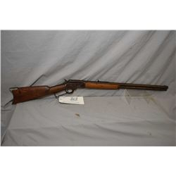 """Marlin Model 1894 .44 W Cal Tube Fed Lever Action Rifle w/ 24"""" rnd bbl full mag [ fading blue finish"""