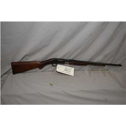 F.N. Browning Model Trombone .22 Long Cal ONLY Tube Fed Pump Action Rifle w/ 22  bbl [ blued finish