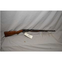 F.N. Browning Model Trombone .22 Long Cal ONLY Tube Fed Pump Action Rifle w/ 22  bbl [ fading blue f