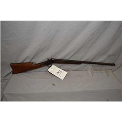 "Remington Model 4 Rolling Block .22 Rimfire Cal Single Shot Rifle w/ 22 1/2"" octagon bbl [ blued fin"