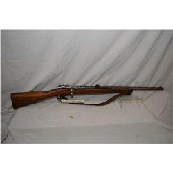 "Mauser ( Erfurt ) Model 1871/ 84 Dated 1888 .11 MM Mauser Cal Bolt Action Sporterized Rifle w/ 24"" b"