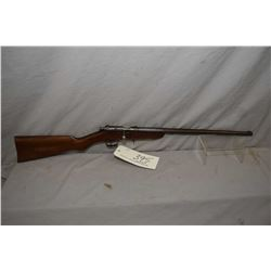 Cooey Model Canuck .25 Rimfire Cal Single Shot Bolt Action Rifle w/ 18  bbl [ faded blue finish turn