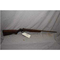 "Cooey Model 84 .410 Ga Single Shot Break Action Shotgun w/ 26"" bbl [ faded blue finish, turned brown"