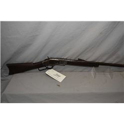 "Winchester Model 1873 3rd Model .44 WCF Cal Lever Action Rifle w/ barrel cut to 20"" [ pitted patchy"
