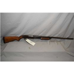 "Springfield Model 67 F .20 Ga 3"" Pump Action Shotgun w/ 28"" bbl [ fading blue finish turned brown, c"
