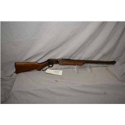 "Marlin Model 39 - A .22 LR Cal Tube Fed Lever Action Rifle w/ 24"" bbl [ faded blue finish turning br"