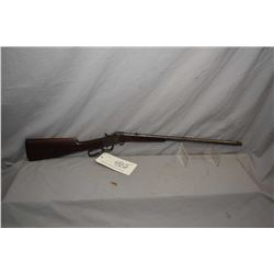 Hopkins & Allen Model 832 .32 Short Rimfire Cal Lever Action Rolling Block Single Shot Rifle w/ 21 1