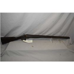 "W.C. Scott England Model Side By Side Hammer .12 Ga Fancy Under Lever Break Action Shotgun w/ 30"" la"