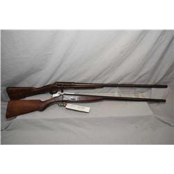 "Lot of Two Firearms : St. Lawrence Model Olympia .12 Ga Break Action Shotgun w/ 30"" bbls [ fading bl"