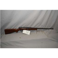 "Winchester Model 74 .22 Short Cal Tube Fed Semi Auto Rifle w/ 24"" bbl [ British Proofs, fading blue"