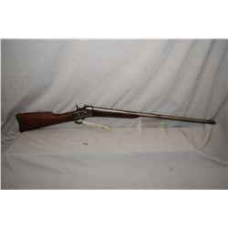 "Remington Model No. 1 Rolling Block .16 Ga Single Shot Shotgun w/ 30"" bbl [ traces of fading blue fi"