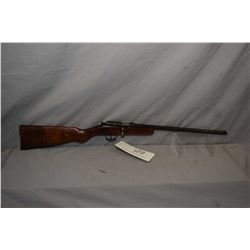 "Cooey Model Sport .22 LR Cal Single Shot Bolt Action Rifle w/ 17"" bbl [ fading blue finish turned br"