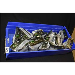 Blue Plastic Tray : Fourteen Bags ( 24 rnds ) Rem Ultimate Muzzle Loader UML Ignition System Primed