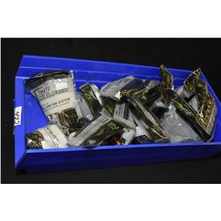 Blue Plastic Tray : Fourteen Bags ( 24 rnds ) Rem Ulitmate Muzzle Loader UML Ignition System Primed