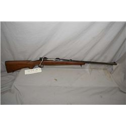 """Winchester Model 54, 30-06 mag fed bolt action rifle w/ 24"""" bbl. [ blued finish, front blade and rea"""