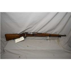 """Mexican production Mauser 1936 short rifle, 7 X 57 mag fed bolt action rifle w/ 23 1/4"""" bbl. [ blued"""