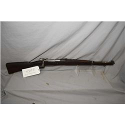 """Mauser 1909 full wood carbine, 7.65 X 53 mag fed bolt action rifle w/ 22 1/2"""" bbl. [blued finish mos"""