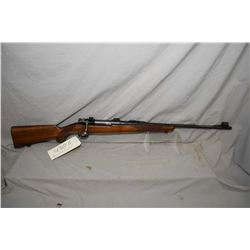 """Husvarna Model 640, 9.3 X 62 mag fed bolt action rifle w/ 24"""" bbl. [blued finish, fixed front and el"""