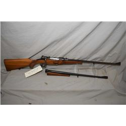 """Mauser Custom Take-Down, 7 X 57 and 8 X 57 calibres, mag fed bolt action rifle w/ 22"""" [blued finish,"""