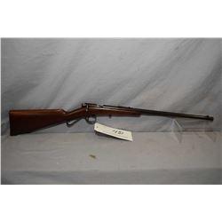 "Savage Model 1904 .22 LR Cal Single Shot Bolt Action Rifle w/ 18"" bbl [ fading blue finish, good woo"