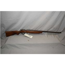 """Cooey Model 75 .22 Rimfire Cal SIngle Shot Bolt Action Rifle w/ 27"""" bbl [ fading blue finish, turned"""