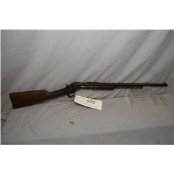 Stevens Model Visible Loading .22 LR Cal Tube Fed Pump Action Rifle w/ 22  bbl [ faded blue finish t