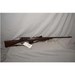 """Schmidt Rubin Model Sporter 7.5 x 55 Swiss Cal ? Mag Fed Straight Pull Bolt Action Rifle w/ 30 1/2"""""""
