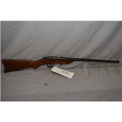 "Cooey Model Canuck .22 LR Cal Single Shot Bolt Action Rifle w/ 17 1/2"" "" bbl [ blued finish starting"