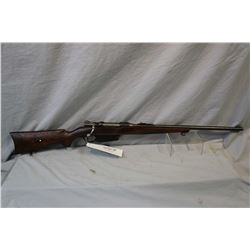 Mauser Model 1891 Argentine Sporterized Converted to .22 Hornet Cal ? ( bullet did fit it and extrac