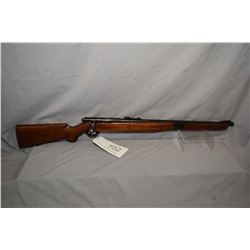 Mossberg Model 42 M - B .22 LR Cal Mag Fed Bolt Action Full Wood Training Rifle w/ 23  bbl [ fading