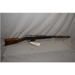 """Remington Model 8 .35 Rem Cal Semi Auto Rifle w/ 22"""" bbl [ fading blue finish, with some thick matte"""