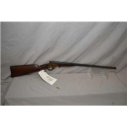 "Stevens Model Marksman .22 LR Cal Single Shot Break Action Rifle w/ 22"" bbl [ blued finish, starting"