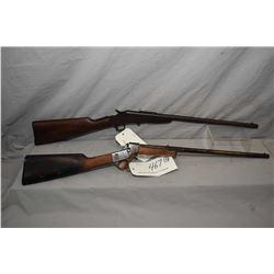 "Lot of Two Firearms : Remington Model 6 .32 Rimfire Cal Single Shot Falling Block Rifle w/ 20"" bbl ["